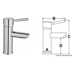 Mélangeur céramique Diana pour lavabo