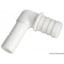 Raccord cylindrique coudé pour tuyaux flexible de 20 mm WHALE