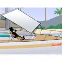 SWI-TEC - RollTop taud déroulant (170 X 190cm)