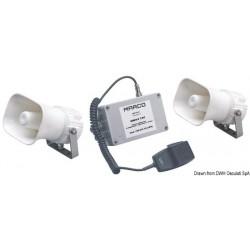 Avertisseur/sifflet électronique multifonction MARCO avec signaux codifiables