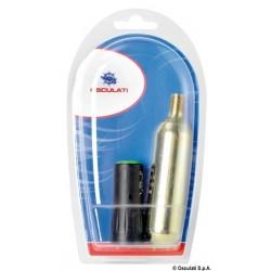 Bombonnes et kit de rechange valves universelles pour gilets autogonflables