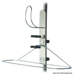 Support télescopique pour bouées couronne