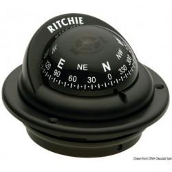 Compas RITCHIE Trek 2' 1/4 (57 mm) avec compensateurs et éclairage