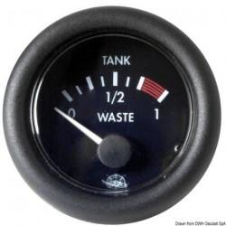 Indicateur des eaux usées Waste Guardian 10-180 ohm