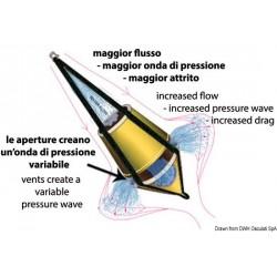 Ancre flottante double cône haute performance