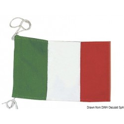 Pavillon de courtoisie italien en polyester