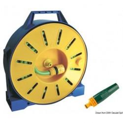 Tuyau en PVC armé sur tambour enrouleur
