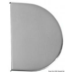 Masque en inox AISI 316 poli miroir