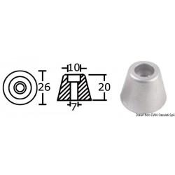 Anode de rechange hélice proue / poupe pour Side-Power (Sleipner)