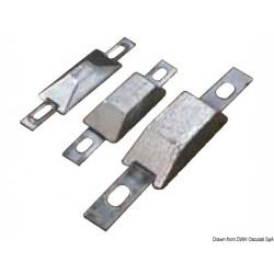 Anodes rectangulaires avec encoche