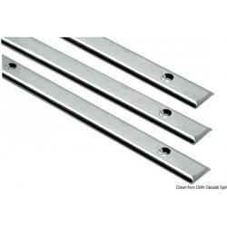 Profilé demi-rond en inox AISI 316 poli miroir