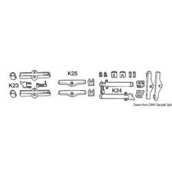 Kit pour adapter les câbles 'K23', 'K24', 'K25'
