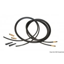 Kit 2 tuyaux flexibles renforcés raccordés à une extrémité