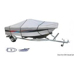 Bâche Centre Console pour bateaux à plat-bord bas avec console de pilotage centrale