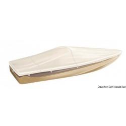 Bâche TESSILMARE pour bateaux avec pare-brise et Day Cruiser.