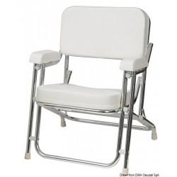 Chaise du Capitaine en aluminium anodisé