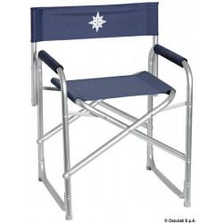 Chaise pliable Regista en aluminium anodisé