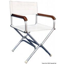 Chaise pliable Director en aluminium anodisé