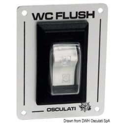 Interrupteur 'W.C. FLUSH'