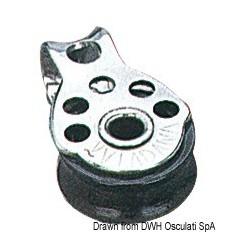 Micropoulies VIADANA pour bouts jusqu'à 5 mm