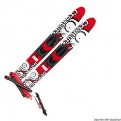 Skis nautiques DEVOCEAN Creature Trainer en bois traité