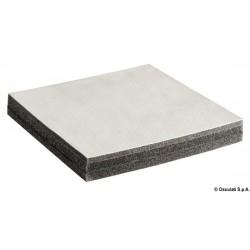 Plaques anti-bruit phono-absorbants et phono-isolants avec simili cuir perforé