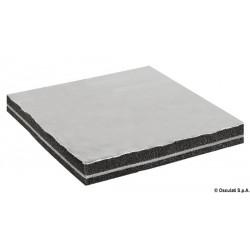 Plaques anti-bruit phono-absorbants et phono-isolants avec tissu en fibre de verre
