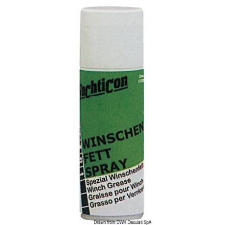 Graisse pour winch en spray YACHTICON