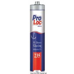 Adhésif à base de polyuréthane pour fenêtres et hublots, résistant aux UV PROLOC 235
