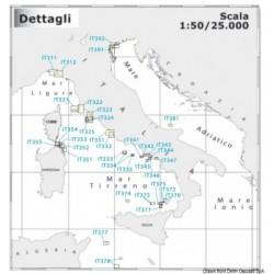 Carte Navimap IT311-IT312 - Cartographie NAVIMAP côtière à grande échelle
