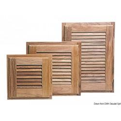 Petites portes à persienne avec encadrement ARC