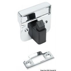 Fermeture au ras pour portes et tiroirs