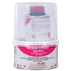Résine époxy R123 avec durcisseur