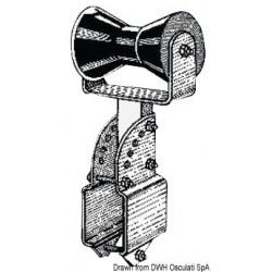Diabolo central soutien-quille, petit modèle, avec support réglable