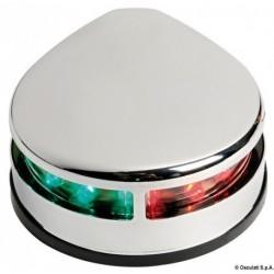 Feux de navigation Evoled à LED à faible consommation en inox pour fixation sur plan