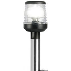 Hampe rabattable, réglage micrométrique avec base dentée