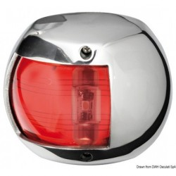 Feux de navigation Compact 12 LED en inox AISI 316 poli miroir