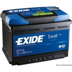 Batteries EXIDE Excell pour démarrage