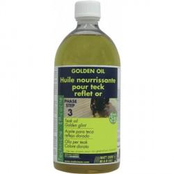 MATT CHEM - GOLDEN OIL - Huile pour teck reflet or - 1L