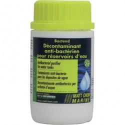 BACTEND 125ML :décontaminant hyper concentré pour réservoirs d'eau