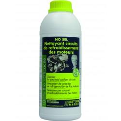 NO SEL : Nettoyant pour circuits de refroidissement / protège de la rouille,éviter la formation de chlorure d'aluminium en hiver