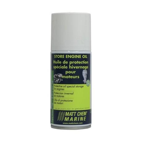 MATT CHEM - STORE ENGINE OIL - Huile de protection hivernage des parties internes du moteur H.B.