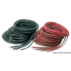 Câble pour batterie en cuivre recouvert d´isolant en résine synthétique