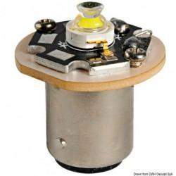 Ampoule LED pour feux de mouillage BA15D pivots baïonette alignés