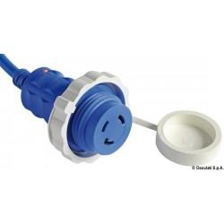 Câble de quai et fiche avec LED témoin lumineux intégré