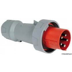 Fiche de courant standard pour prise de quai IP67