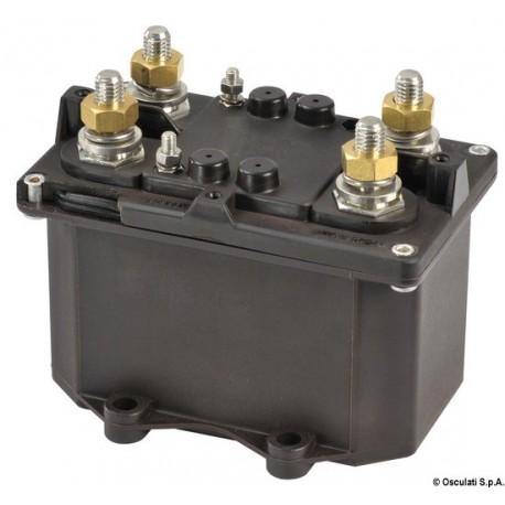 Coupe-batterie automatique bipolaire (télérupteur général de courant avec alimentation séparée de la bobine)