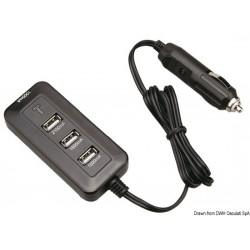 Prise USB quadruple volant