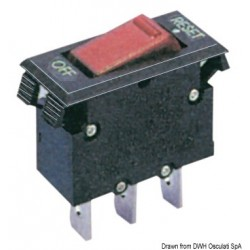 Interrupteur thermique disjoncteur à bascule