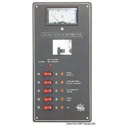 Tableau pour courant alterné 220 V